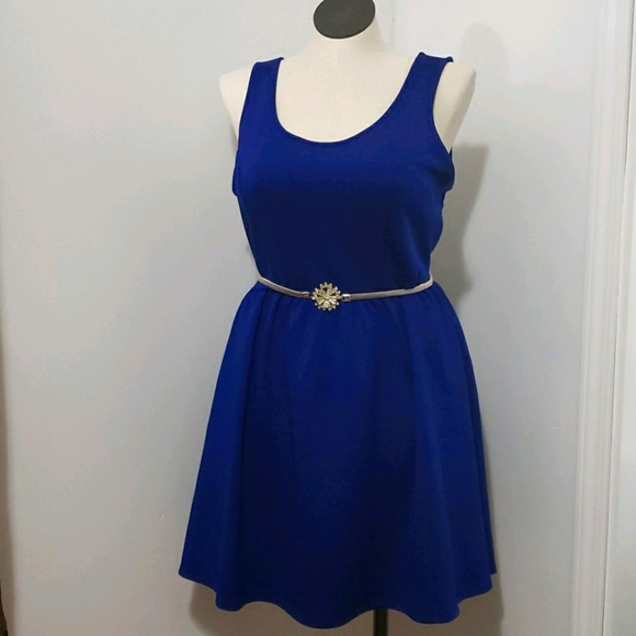 Forever 21 Royal Blue Slater Dress